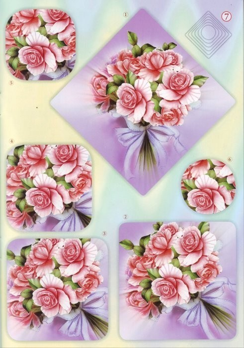 3d fleur page 7 - Se connecter a pinterest ...